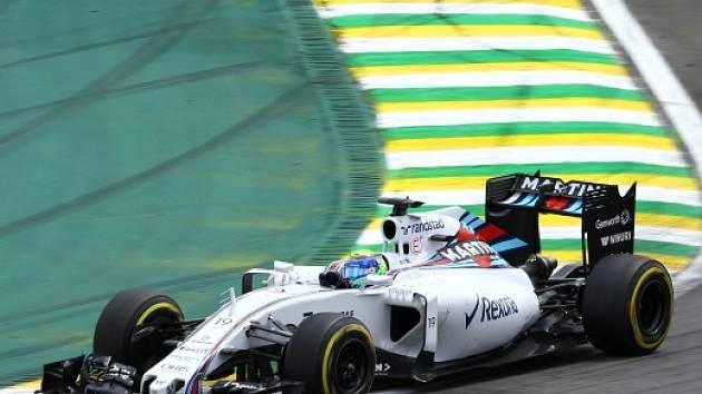 Felipe Massa ve Velké ceně Brazílie
