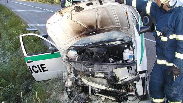 U Sytna zemřel při dopravní nehodě policista.