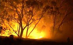 Požár na předměstí australského Sydney