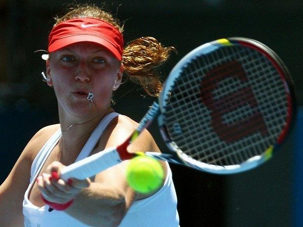Petra Kvitová na turnaji v Sydney.