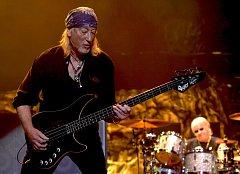 Koncert britské kapely Deep Purple.