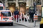 Při střelbě v centru Vídně zemřel jeden člověk