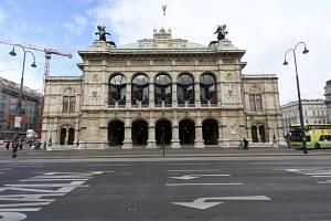 Budova Státní Opery ve Vídni. Ilustrační snímek