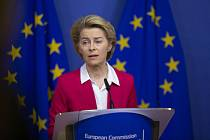 Předsedkyně Evropské komise Ursula von der Leyenová