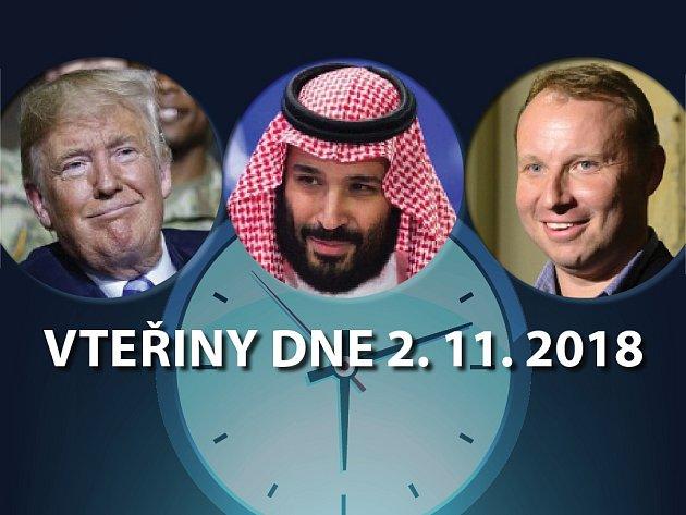 Vteřiny dne 2. listopadu 2018