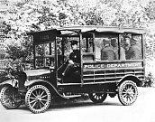 Policejní Model T Truck.
