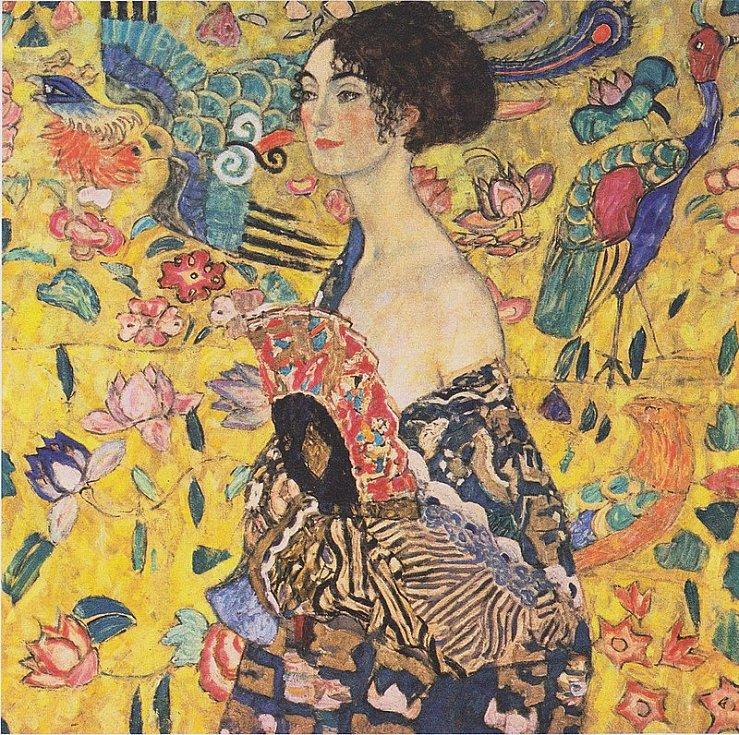 Gustav Klimt: Dáma s vějířem