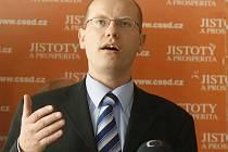 Bohuslav Sobotka v roce 2007
