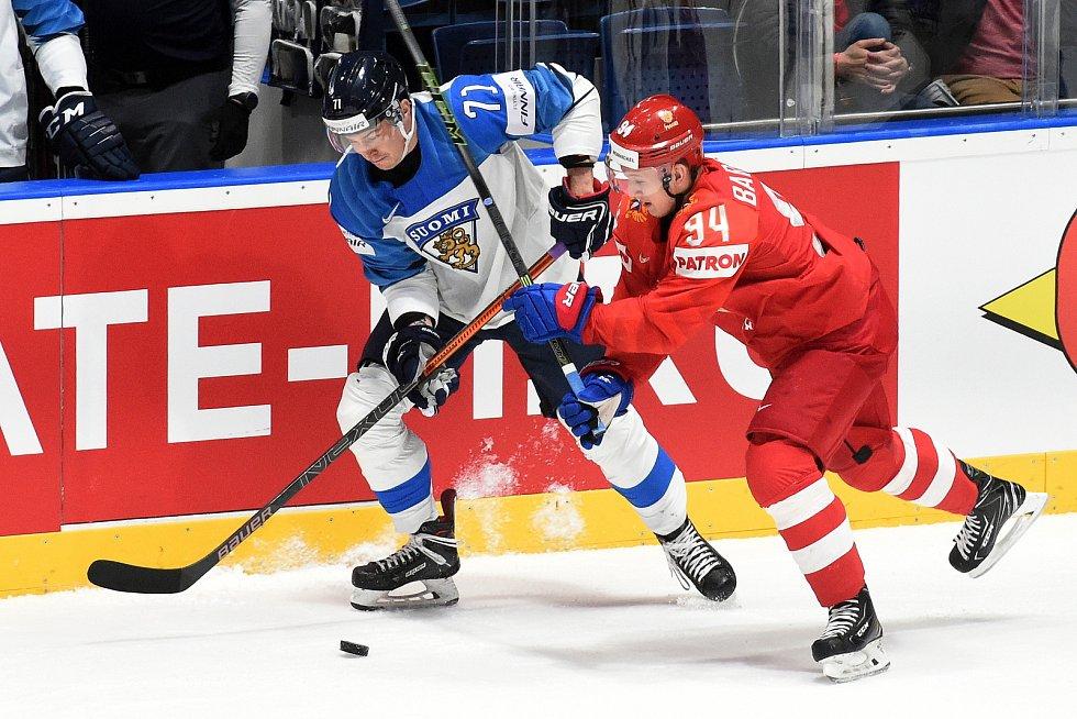 Bratislava 24.5.2019 - Mistrovství světa v Bratislavě - semifinále Rusko Finsko