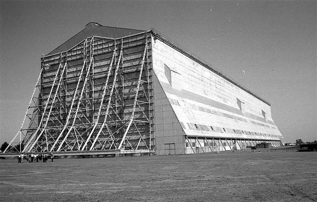 Hangár vzducholodí v Cardingtonu