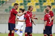 Čeští fotbalisté zvítězili na Kypru 2:1