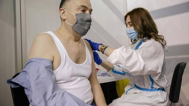 Očkování proti covidu v Srbsku