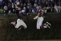 Baseballisté Clevelandu Indians.