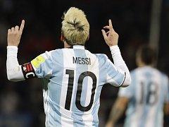 Lionel Messi, zřejmě největší hvězda reprezentace Argentiny.