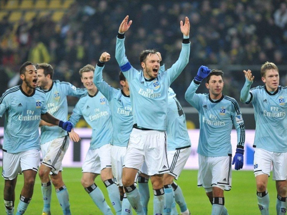 Fotbalisté Hamburku vypráskali Dortmund.