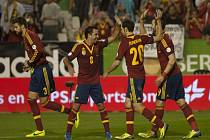 Fotbalisté Španělska si výhrou nad Gruzií zajistili postup na MS v Brazílii.