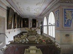 Areál bývalého kapucínského kláštera v Opočně.