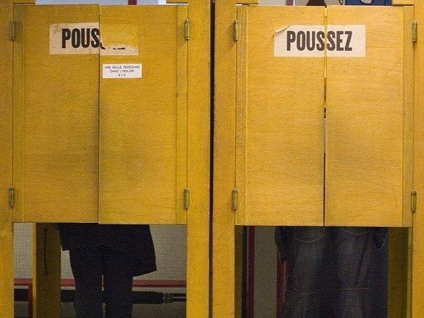 Hlasovací kabiny ve Švýcarsku