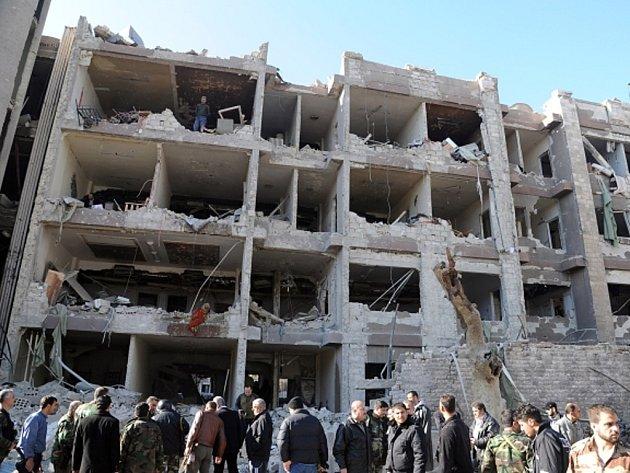 Dva výbuchy, které v sobotu 17. března 2012 ráno otřásly Damaškem v Sýrii.