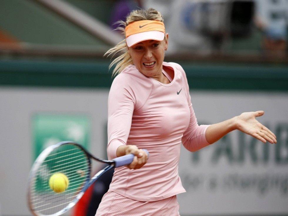 Maria Šarapovová na Roland Garros.