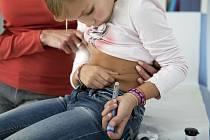 Dítě s cukrovkou - Ilustrační foto