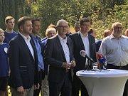 Jiří Drahoš dnes odstartoval svoji senátní kampaň.