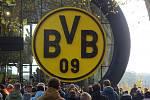 Kluci z Ostravy na fotbale v Dortmundu