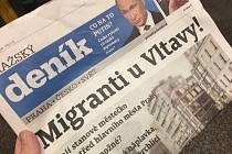 Upozorněním na hoax o migrantech u Vltavy odstartovala v březnu 2018 rubrika Deník proti fake news. Letos v červnu se hoax začal opět šířit v nové podobě
