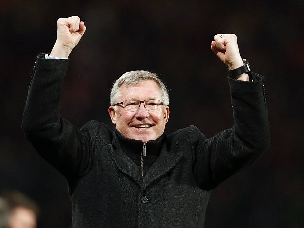 Alex Ferguson, legenda Manchesteru United.