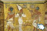 Tutanchamonova hrobka.