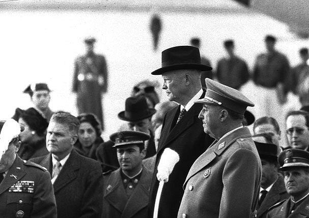 V roce 1959 se s Francem setkal v Madridu americký prezident Dwight Eisenhower.