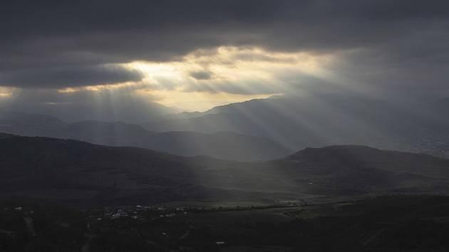 Pohled na Náhorní Karabach