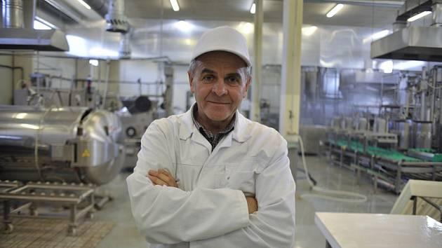 Jan Lunter ve výrobě