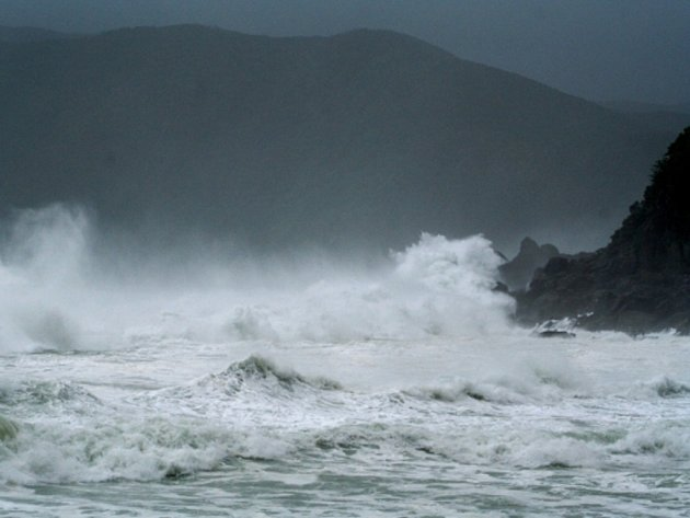 Tajfun Neoguri. Ilustrační foto.