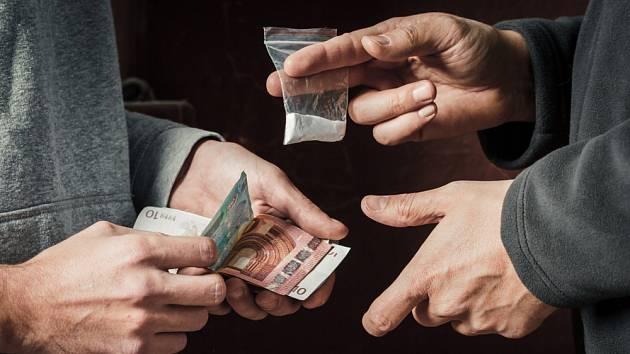 Prodej drog. Ilustrační snímek.