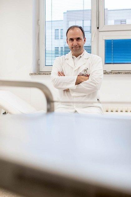 Diabetolog Martin Haluzík, zástupce přednosty Centradiabetologie IKEM