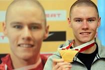 Březen byl pro sprintera Pavla Masláka snovým měsícem: v Sopotech se stal halovým mistrem světa.