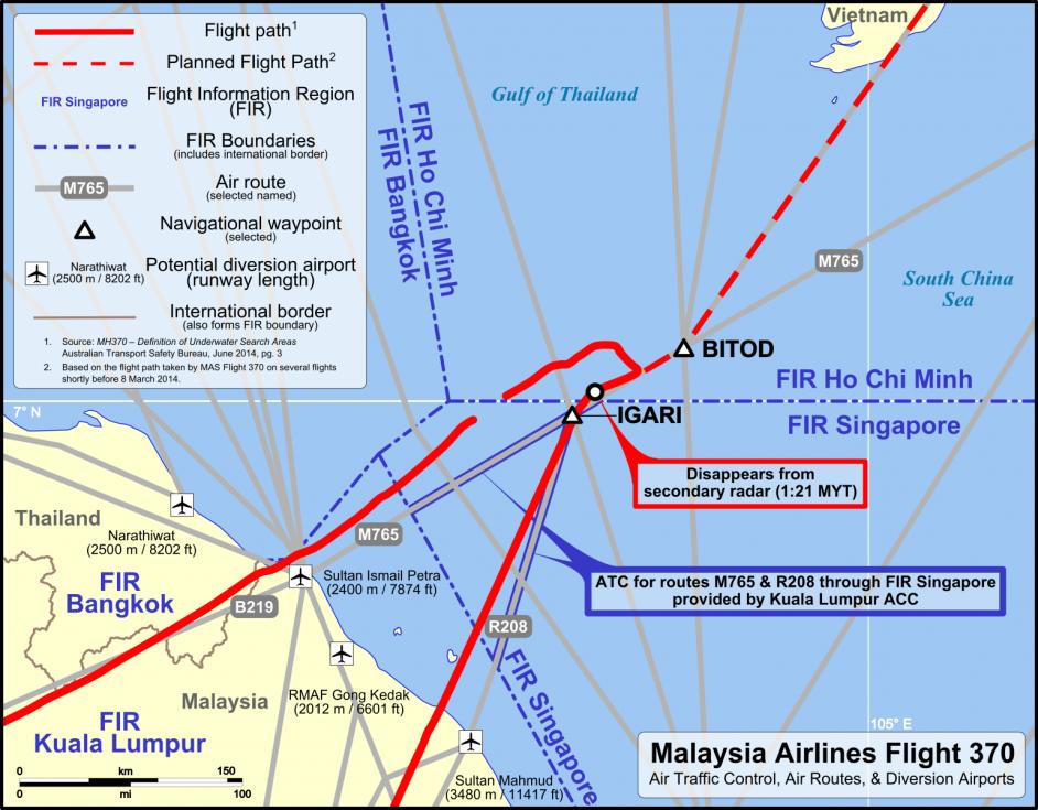 Snímky, které ukazují, kde se dnes může pohřešovaný Boeing 777 nacházet.