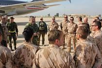 Aleš Opata v Iráku
