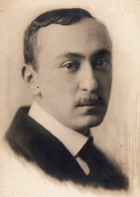 Otec Richard Weinberger, rok 1915.