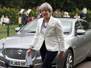 Britská premiéra Theresa Mayová.