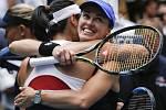 Martina Hingisová (vpravo) a Chan Yung-jan vyhrály US Open.