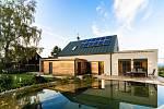 Architektura moderních pasivních domů plně respektuje současné trendy – pasivní dům Jistebnicko, projekt Domy Atrea