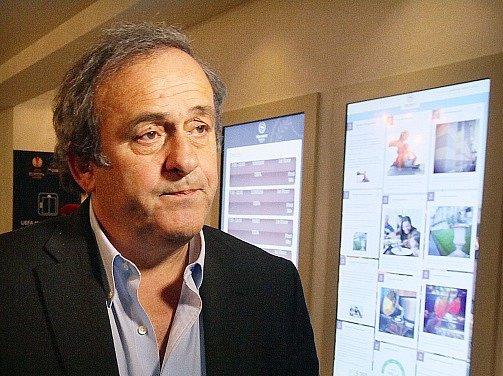 Michel Platini, šéf UEFA