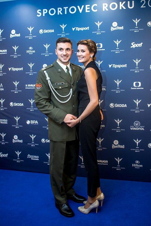 Vyhlašování ankety Sportovec roku probíhalo 21. prosince v Praze. Martin Fuksa
