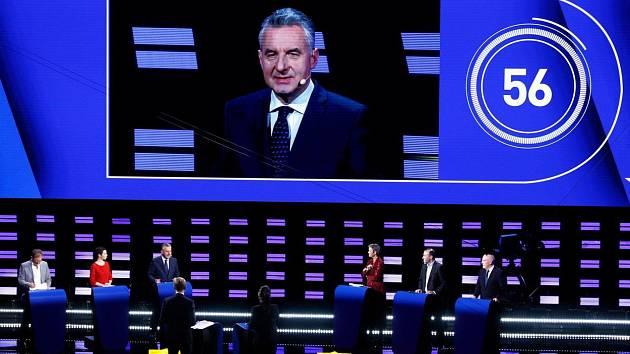 Debata kandidátů na lídra Evropské komise