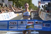 Moira Stewartová zaběhla v Římě půlmaraton v historicky nejlepším českém čase 1:10:16 hodiny.