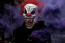 Děsivá maska klauna - Ilustrační foto