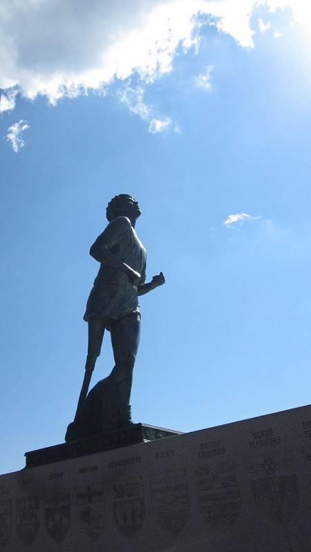 Monument Terryho Foxe na Thunder Bay v kanadském Ontariu