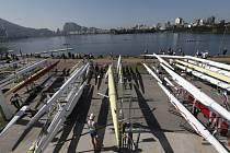 Areál v Riu a tamní vodu už vyzkoušeli veslaři